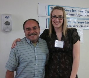 Help tell stories like his - this client lives in Indio, CA and faces barriers to accessing legal services!