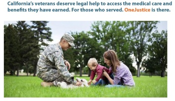OneJustice expands legal help for veterans