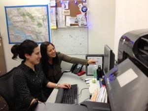 SoCal Pro Bono Team (R to L): Monica Mar, Senior Staff Attorney and Cynthia Luna, Equal Justice Works AmeriCorps Attorney