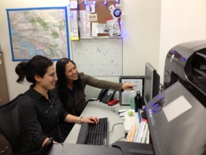 SoCal Pro Bono Team (R to L): Monica Mar, Senior Staff Attorney and Cynthia Luna, Equal Justice Works AmeriCorps Attorney