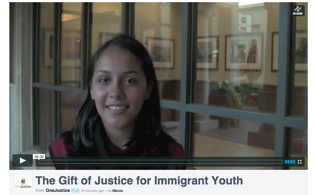 Click on the image above to watch our short video about Laura Lopez, an immigrant youth in Napa County.