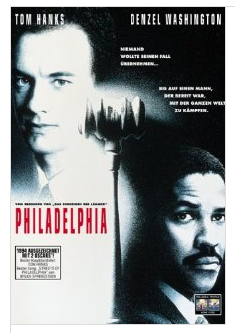 Tom Hanks and Denzel Washington in Philadelphia