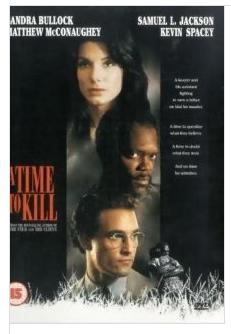 A Time to Kill - Sandra Bullock, Matthew McConaughey, and Samuel Jackson