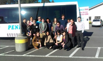 Students from University School of Law traveled over 300 miles to Humboldt County, where they partners with Jennifer and FREE to deliver two days of free legal clinics.