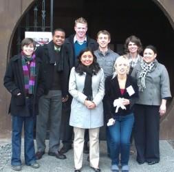 USF students Yurok Tribal Center
