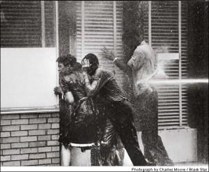 October Injustice Photo: water hoses in Birmingham