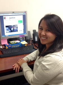 Cheryl Banares, Justice Bus Fellow