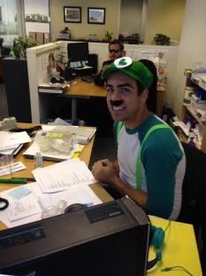 Kraig as Luigi