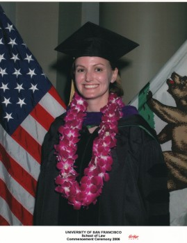 This is me back in the days of law school - when PI/PS Day got me hooked on a public interest career!