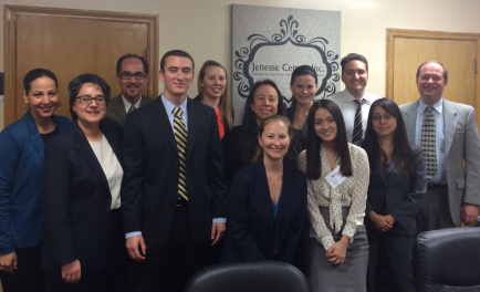 Photo of IMPACT LA volunteer attorneys.