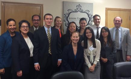 Photo of IMPACT LA volunteer attorneys.