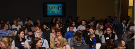 Each year, Full Circle Fund members gather at Demo Day, where the current year's grant portfolio is unveiled.
