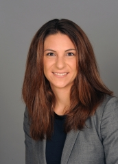 Photo of Jennifer Cormano, an associate at the law firm of Nixon Peabody.