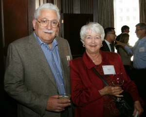 Randy and Anne Silver at the 2013 Opening Doors to Justice event.