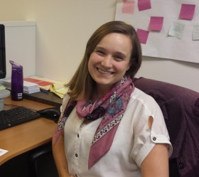 Photo: Katherine Pluymert, Healthy Nonprofits Program Associate.