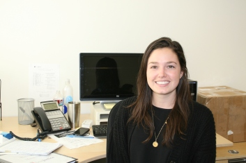 Photo: Maureen Slack, Equal Justice Works AmeriCorps Legal Fellow for the Justice Bus Project at OneJustice's San Francisco office.