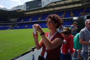 Photo: Loyal Tottenham Hotspurs fan at White Hart Lane (North London) #COYS