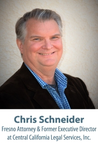IMAGE: 2016 Opening Doors to Justice Honoree: Chris Schneider, Fresno Attorney & former Executive Director at Central California Legal Services, Inc.