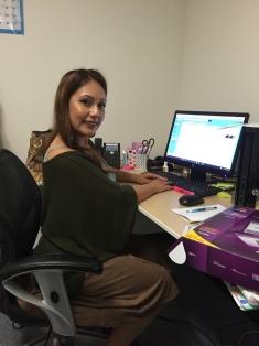 IMAGE: Dulce Sanchez, Pro Bono Justice Program Associate in the Los Angeles office.
