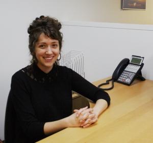 Photo: Lyla Bugara, the new Pro Bono Justice Program Associate in the San Francisco office.