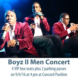 IMAGE: Boyz II Men Concert