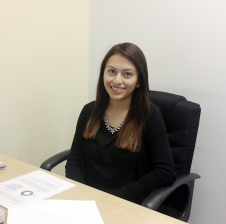 IMAGE: Summer Law Clerk Erika Villaseñor will be helping with Rural Justice Collaborative and the Justice Bus Project.