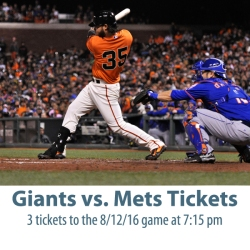 IMAGE: Giants vs. Mets Tickets
