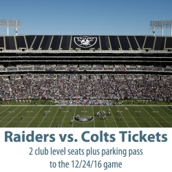 IMAGE: Raiders VS. Colts Tickets